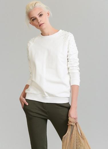 İnci Detaylı Sweatshirt-People By Fabrika
